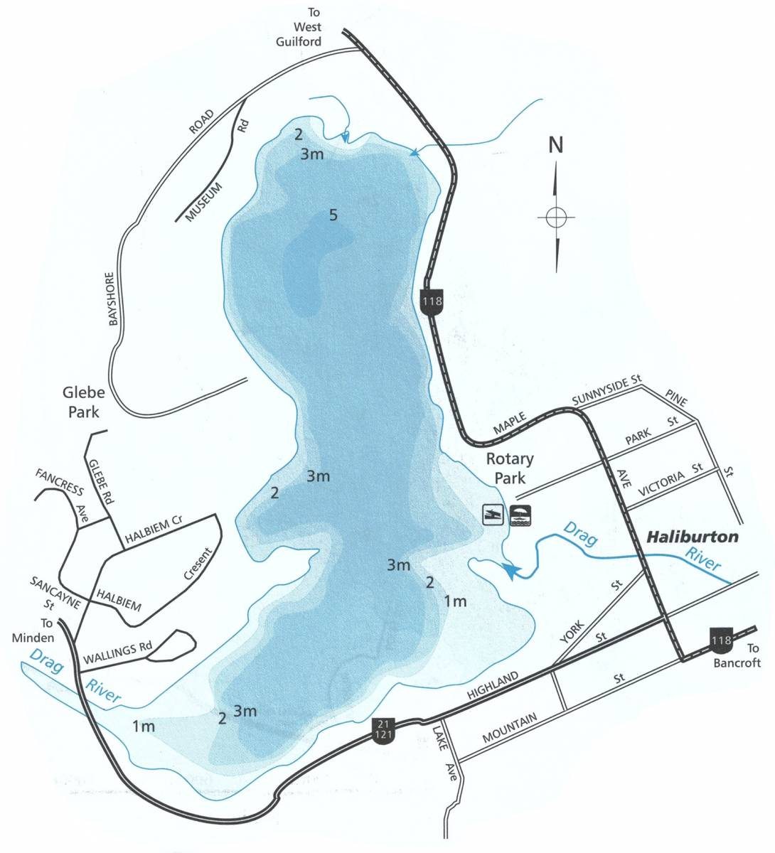 head-lake-map